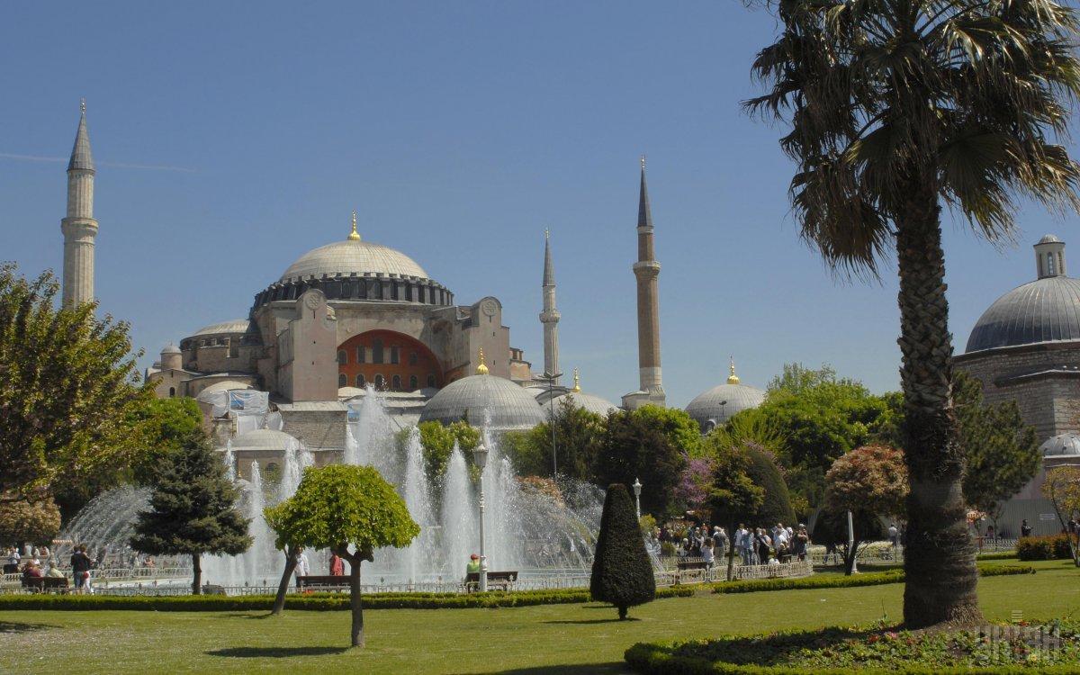 Софийский собор - одна из изюминок Стамбула / Фото УНИАН