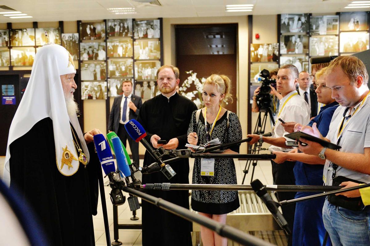 Патріарх Кирил/ mospat.ru