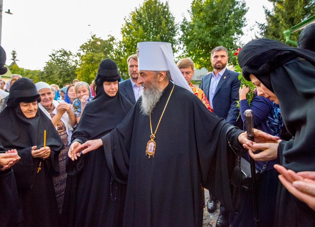 За богослужением была вознесена молитва о мире в Украине / news.church.ua