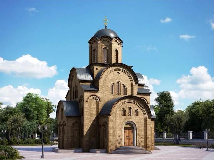 Проект майбутнього храму / berdichev.biz