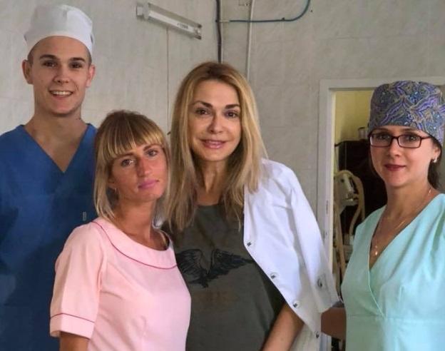 Сумська розповіла, як потрапила до реанімації / фото facebook.com/osumska