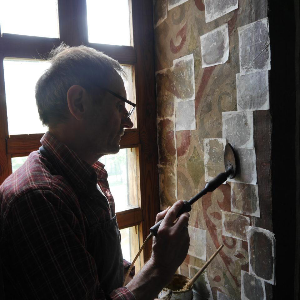 Сейчас в Кирилловской церкви продолжаются реставрационные работы / st-sophia.org.ua