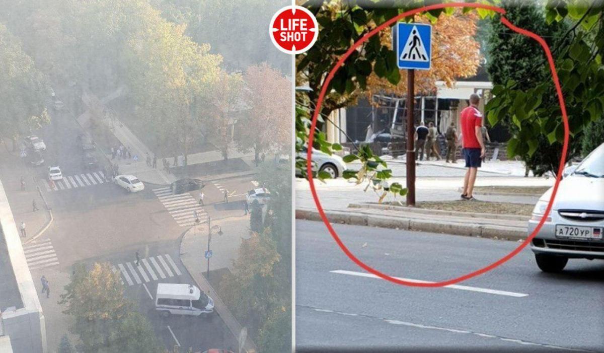 На фото видно зруйноване в результаті вибуху приміщення / фото телеграм-канал LifeShot