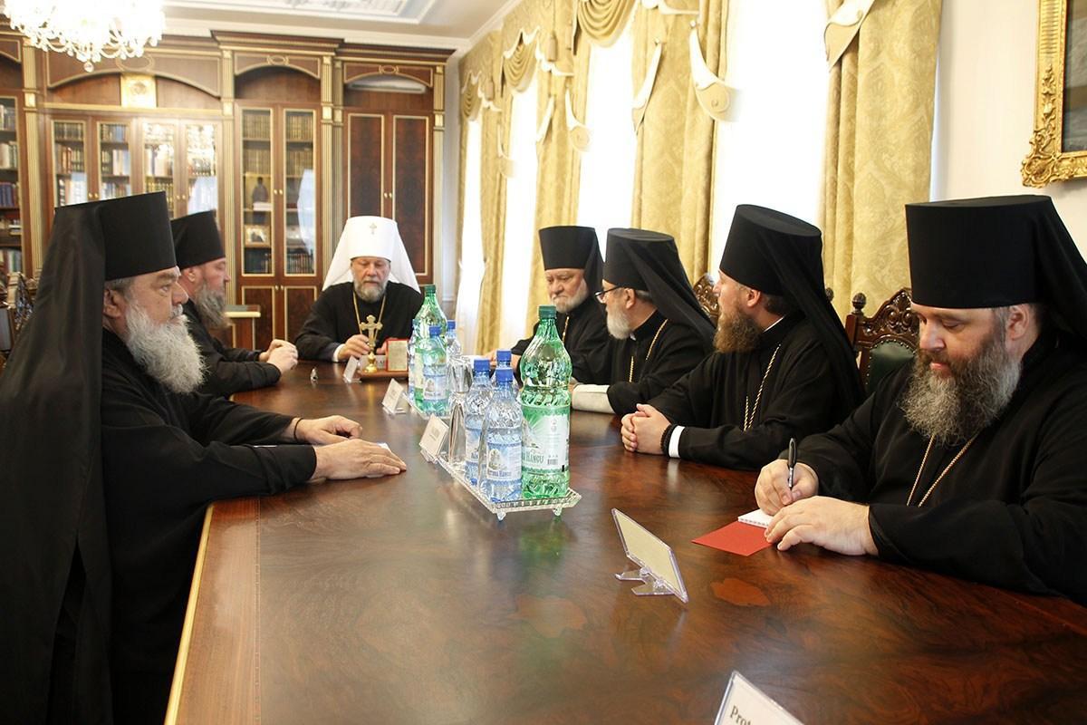Відбулося засідання Синоду Православної Церкви Молдови / mitropolia.md