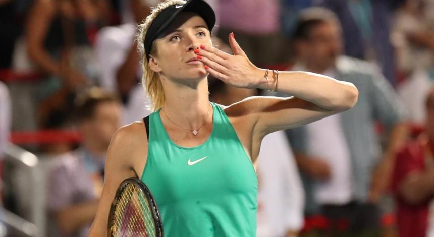 Свитолина уверенно прошла в 1/4 финала турнира в Цинциннати