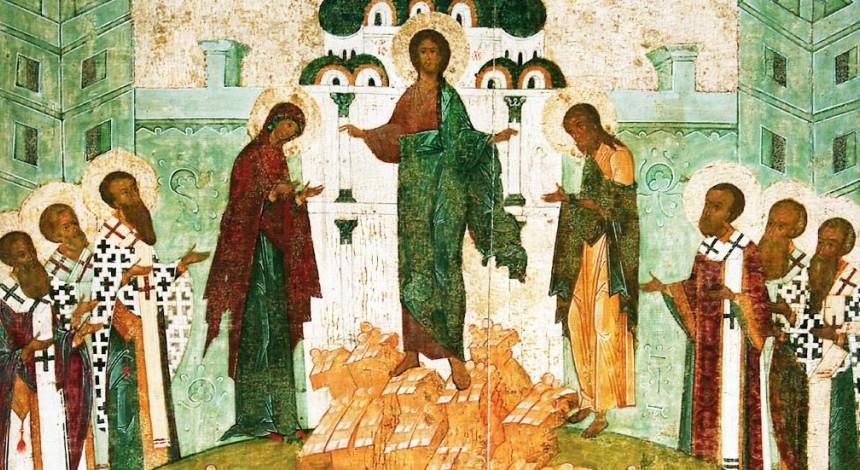 Православные празднуют Первый Спас - Изнесение честных древ животворящего Креста Господня