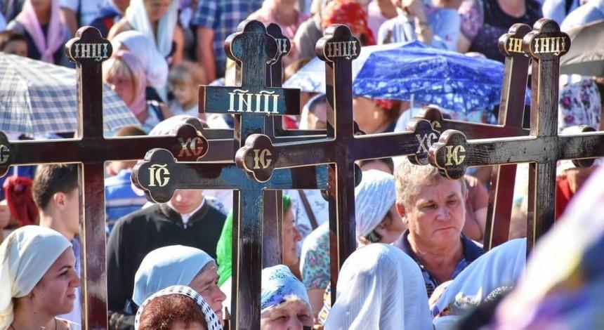 На Вінниччині 15 тисяч вірян УПЦ звершили Хресний хід на Іосафатову долину (фото)