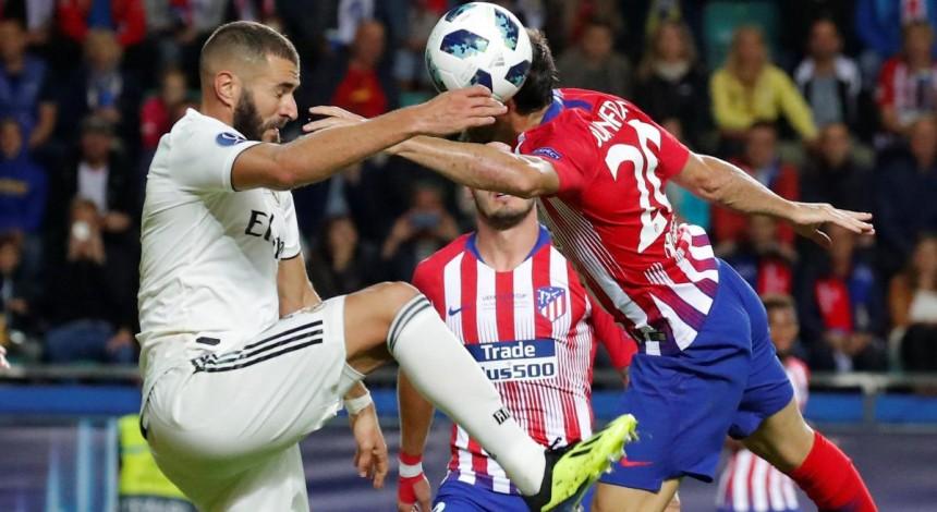 Атлетико забил 4 гола Реалу в матче за Суперкубок УЕФА и стал обладателем трофея
