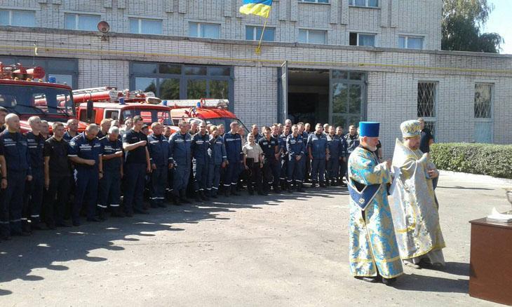 Спасатели Ахтырки получили благословение
