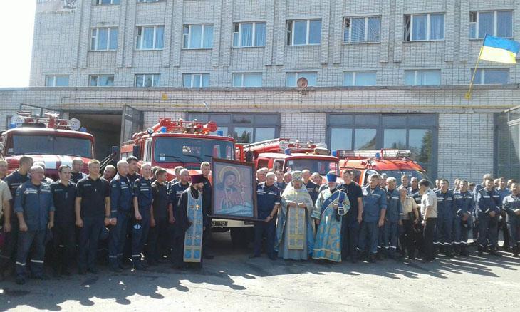 Спасатели Ахтырки получили благословение / portal-pravoslavie.sumy.ua