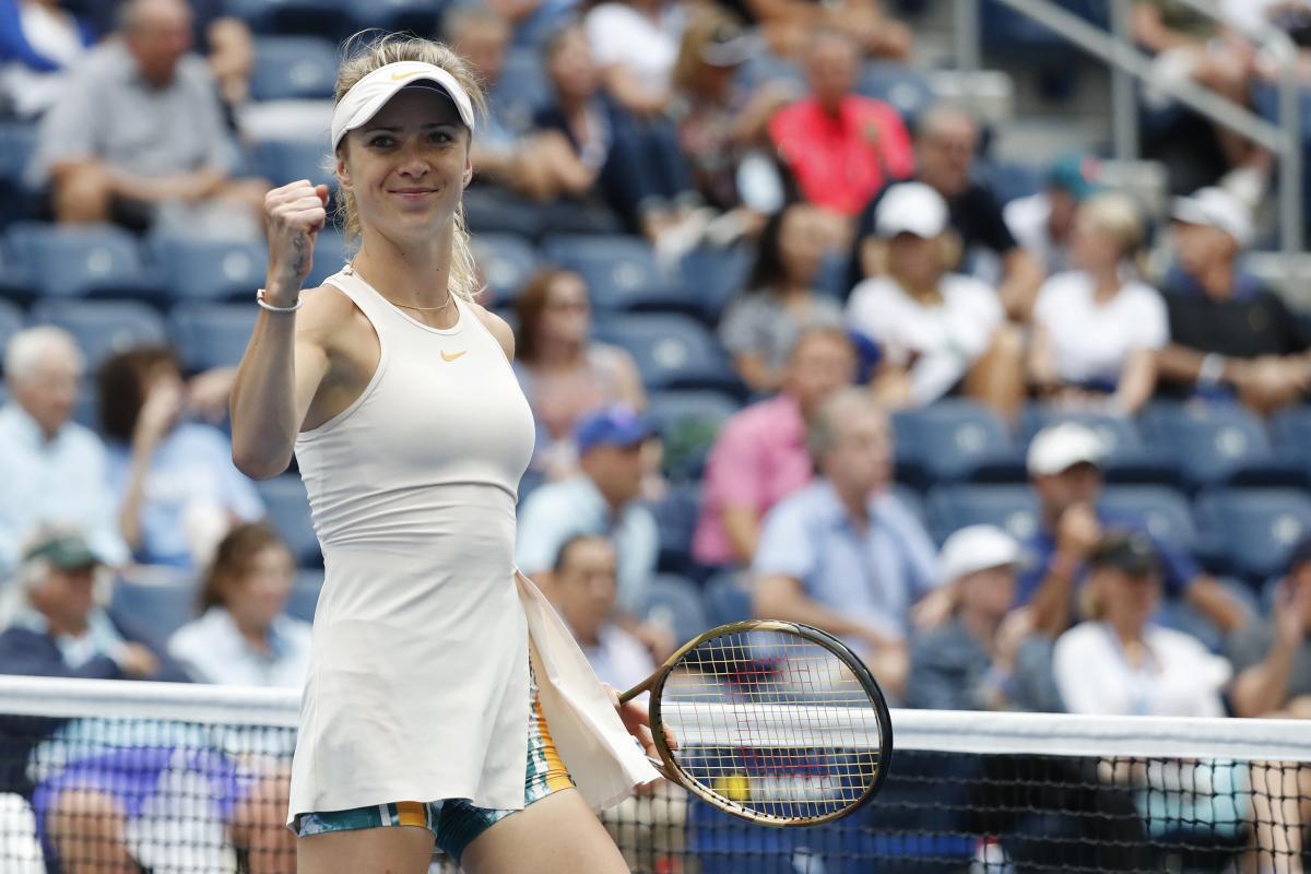 Свитолина выиграла очередной матч турнира в Нью-Йорке / Reuters