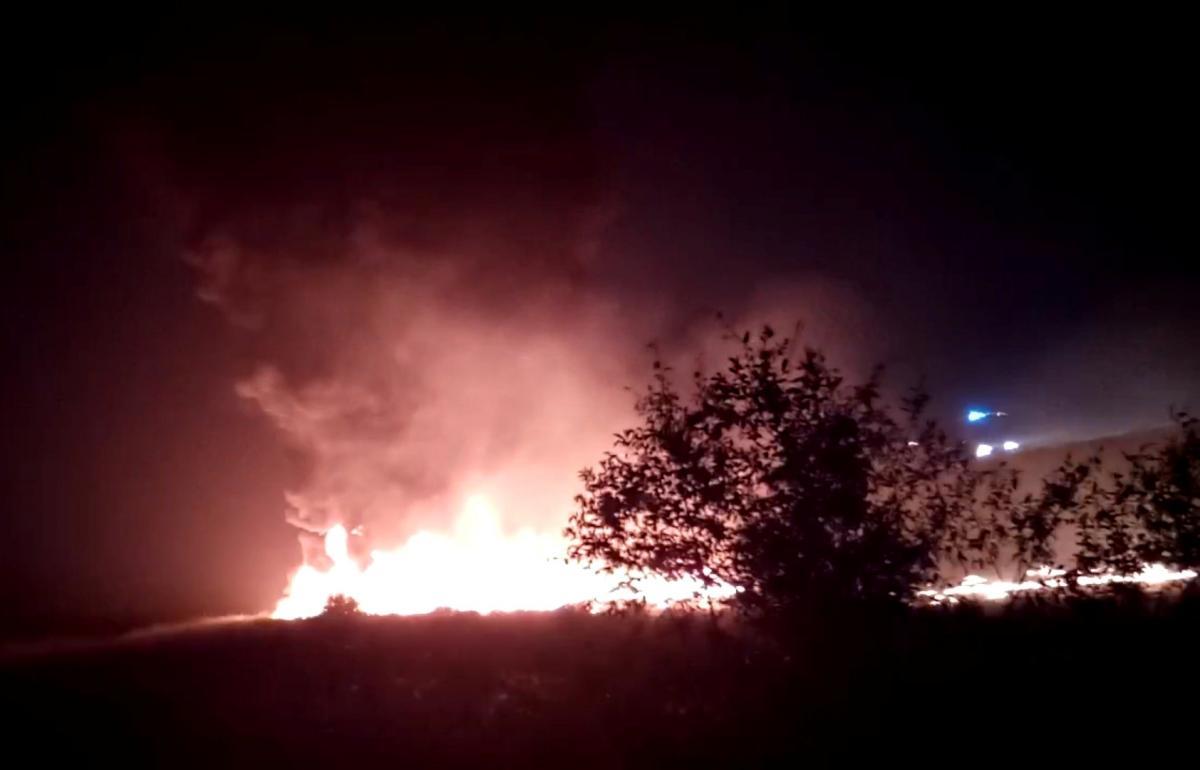 """В аеропорту """"Сочі"""" загорівся літак / фото REUTERS"""