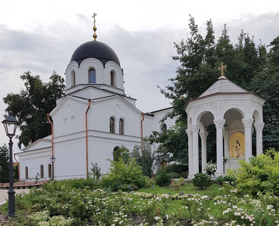 Церковь Сошествия Святого Духа была построена в 1849-1850 годах / monasterium.ru