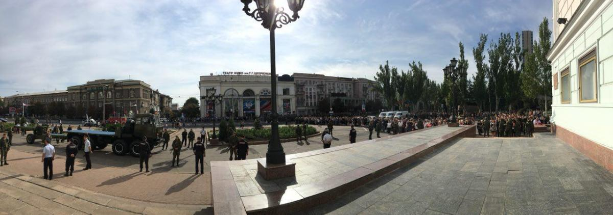"Photo from Telegram channel ""Inside Donetsk"""