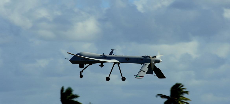 Разведывательный полет БПЛА США над оккупированными территориями / фото Министерство обороны США
