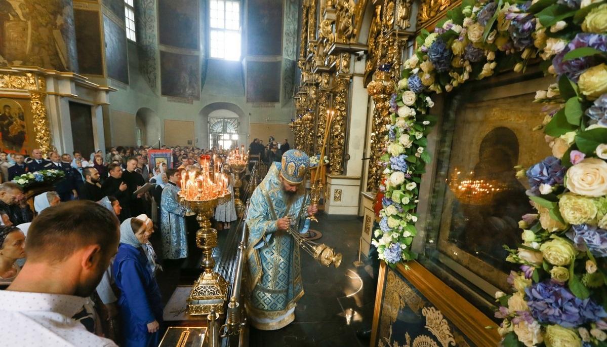 В Донском монастыре прошли торжества в честь Донской иконы Божией Матери / monasterium.ru