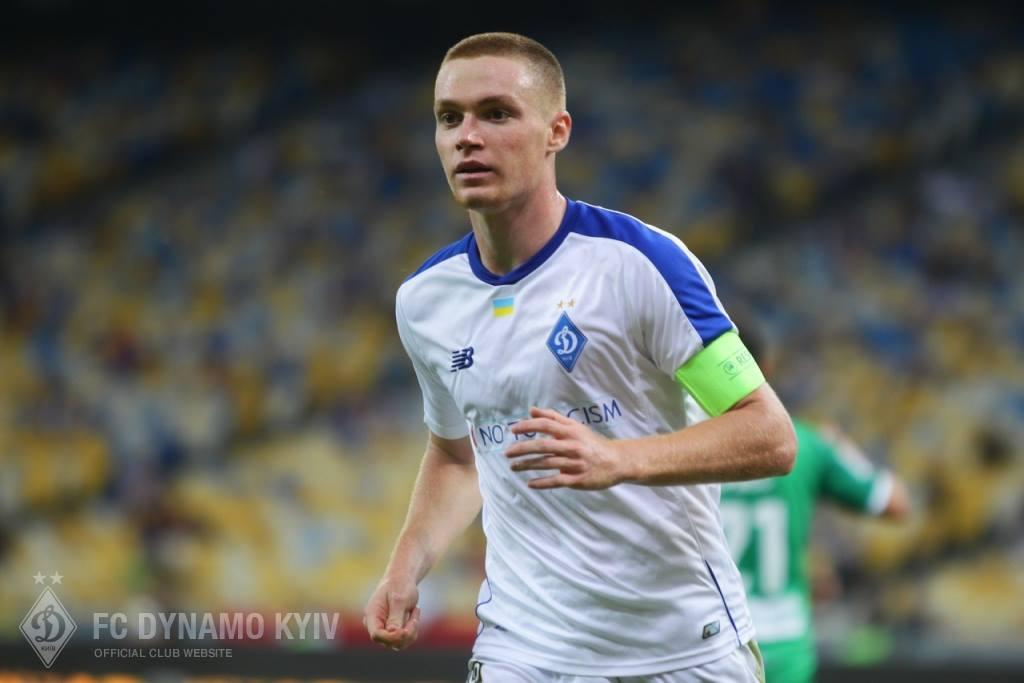 Виктор Цыганков открывл счет в матче с Черноморцем/ facebook.com/fcdynamoua