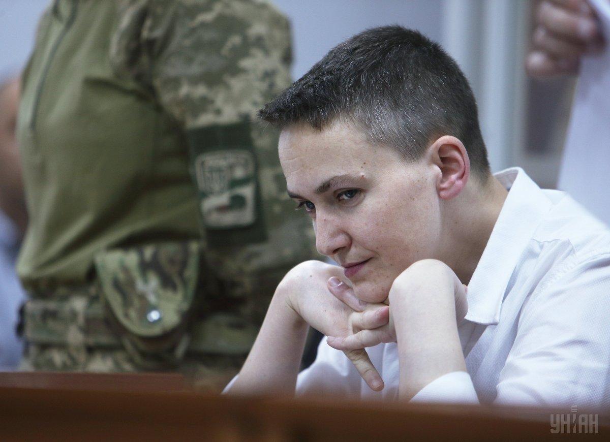 В ночь с 15 на 16 апреля Савченко освободили из-под стражи \ фото УНИАН