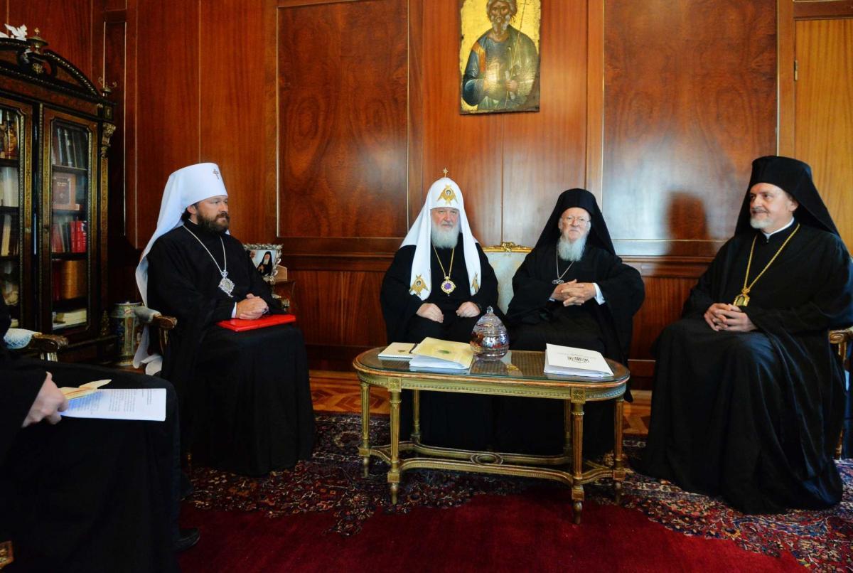31 серпняу Стамбулі відбулася зустрічПатріарха Кирила з Патріархом Варфоломієм / patriarchia.ru