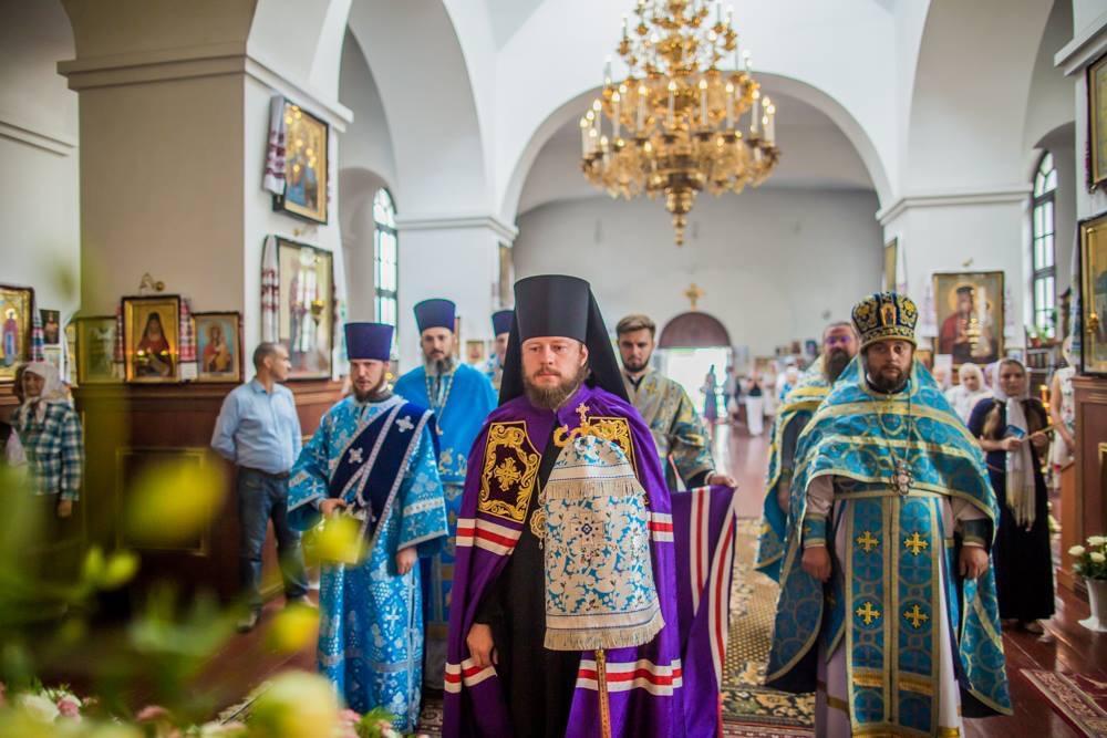 Богослужение состоялось по случаю престольного праздника / mitropolia.kiev.ua