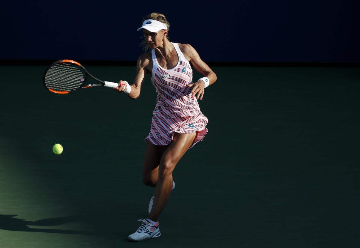 Леся Цуренко стала четвертьфиналисткой US Open / REUTERS
