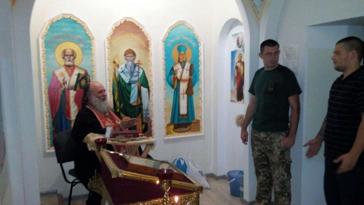 Священник УПЦ посетил несовершеннолетних заключенных Запорожского следственного изолятора / hramzp.ua