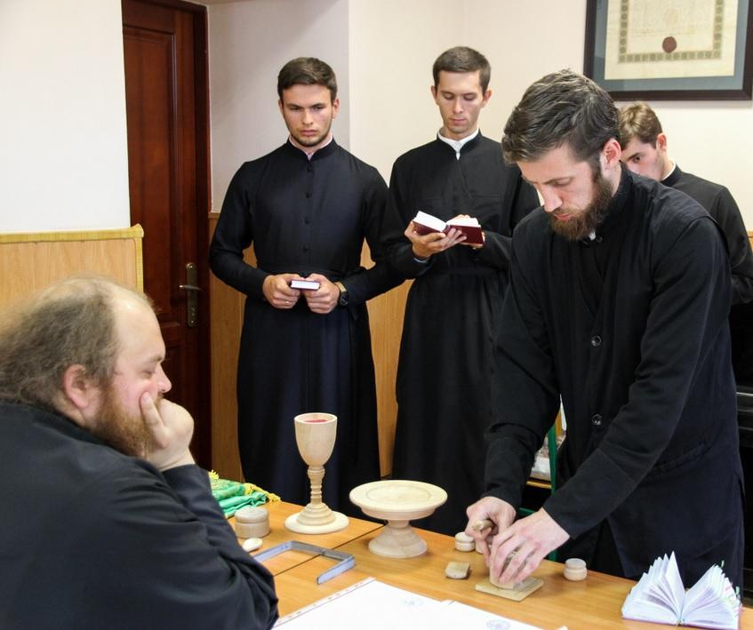В Київських духовних школах відбувся ставленицький іспит / kdais.kiev.ua