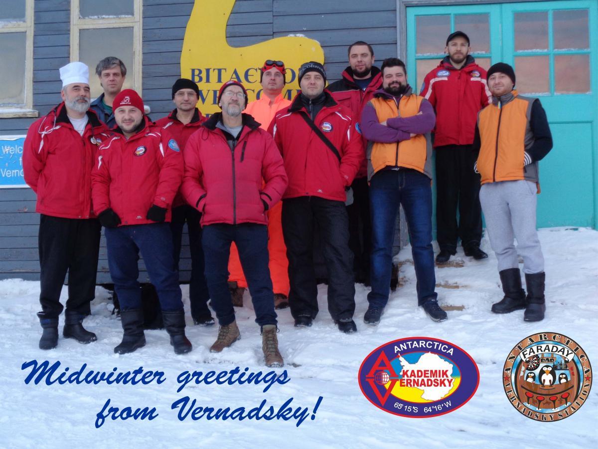 23-Я украинская антарктическая экспедиция / фото НАНЦ