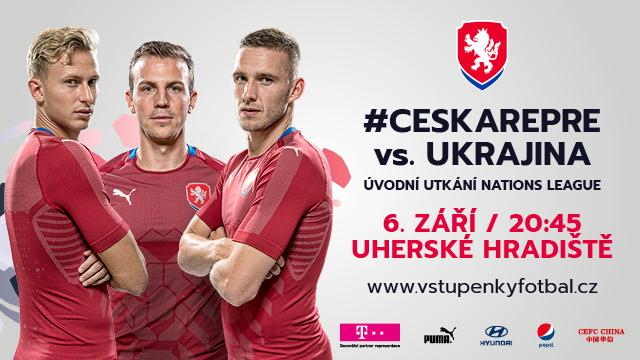 Матч Лиги наций Чехия-Украина состоится 6 сентября / fotbal.cz