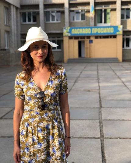 Куриленко прогулялася у своєї школи / Instagram Ольга Куриленко