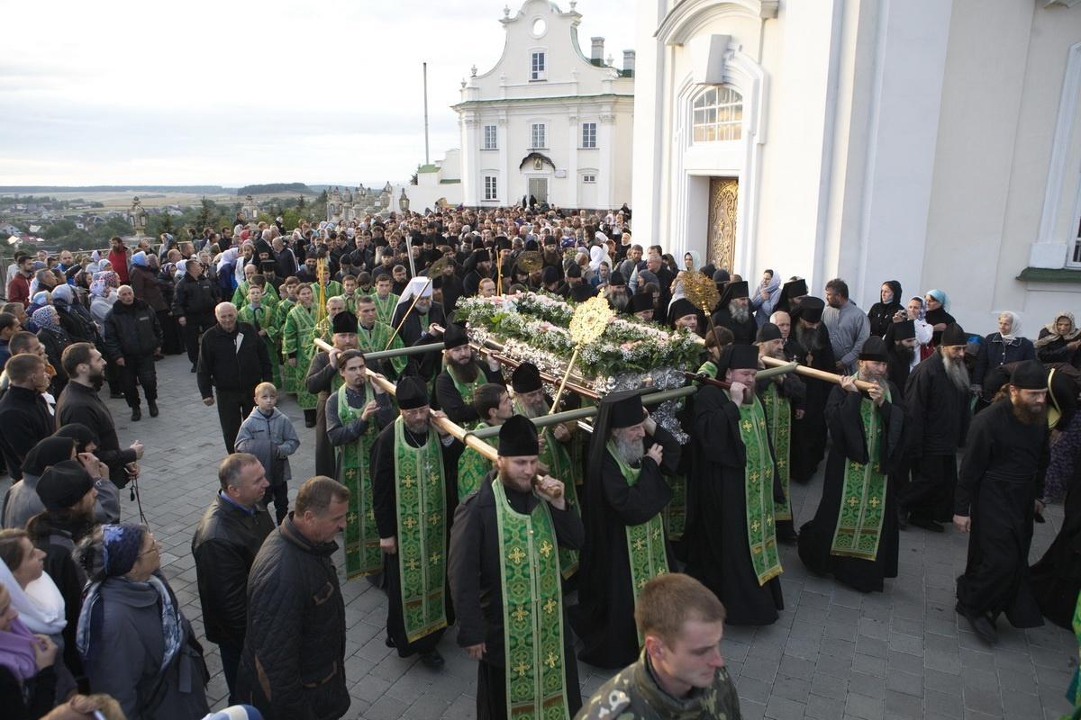 Обретение мощей преподобного Иова / pochaev.org.ua