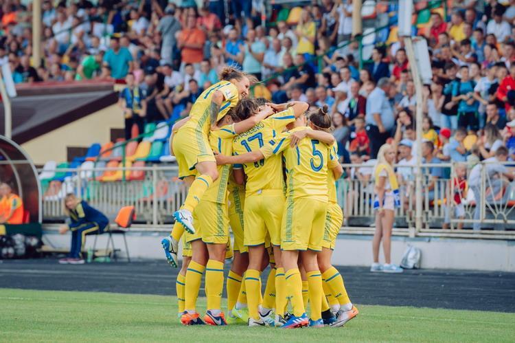 Женская сборная Украины по футболу обыграла Венгрию / ffu.org.ua