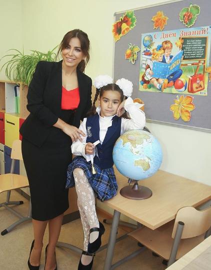Співачка віддала доньку в підмосковну школу / Instagram Ані Лорак