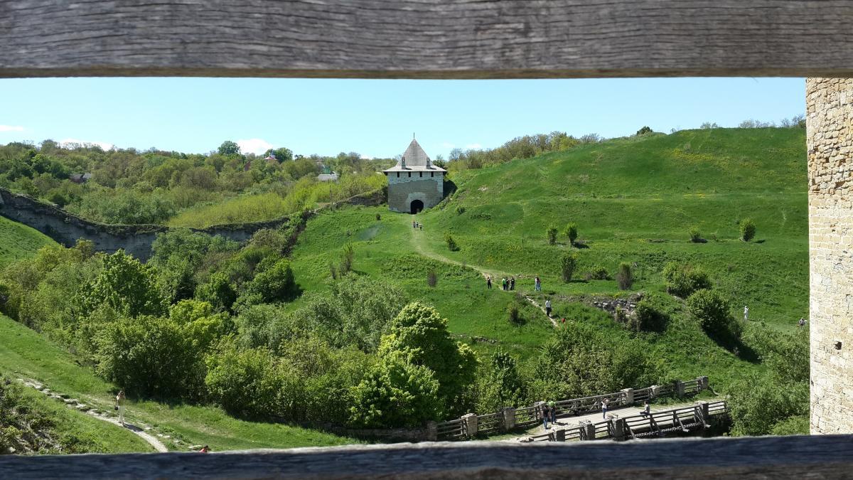 Увесь комплекс Хотинської фортеці доволі великий / Фото Марина Григоренко