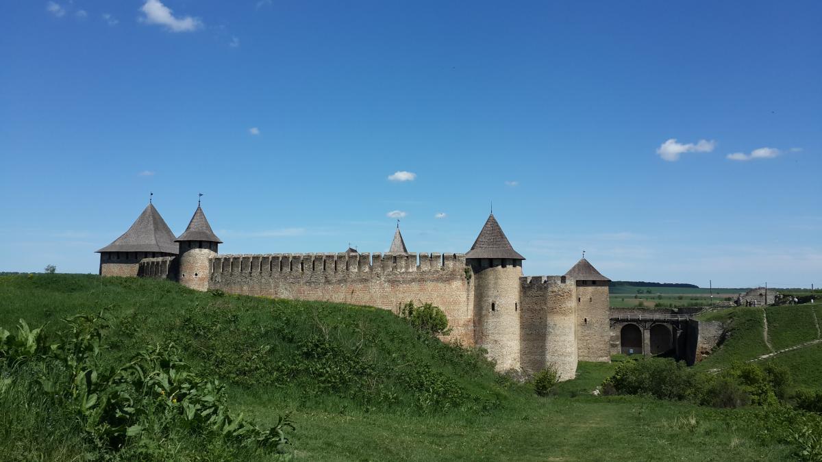 Попри нелегку долю - Хотинська фортеця добре збереглася / Фото Марина Григоренко