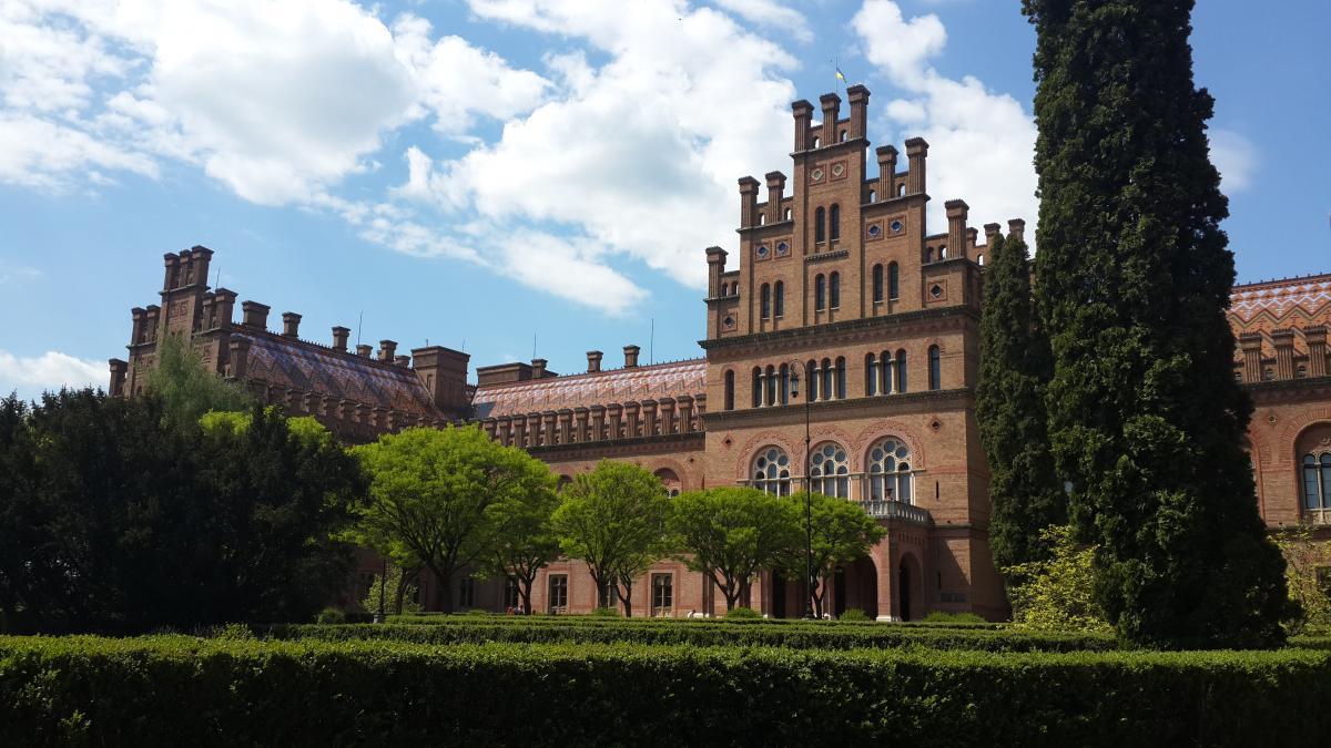 Чернівецький університет - одна з головних туристичних пам'яток міста / Фото Марина Григоренко