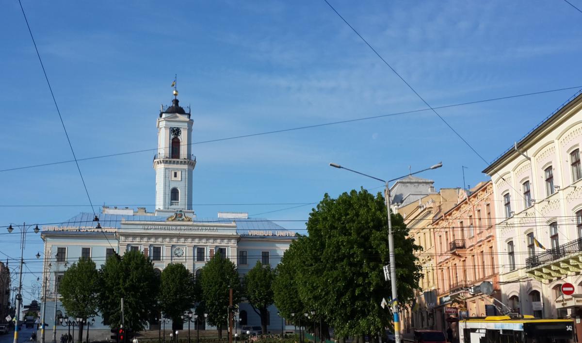 Черновицкая ратуша / Фото Марина Григоренко