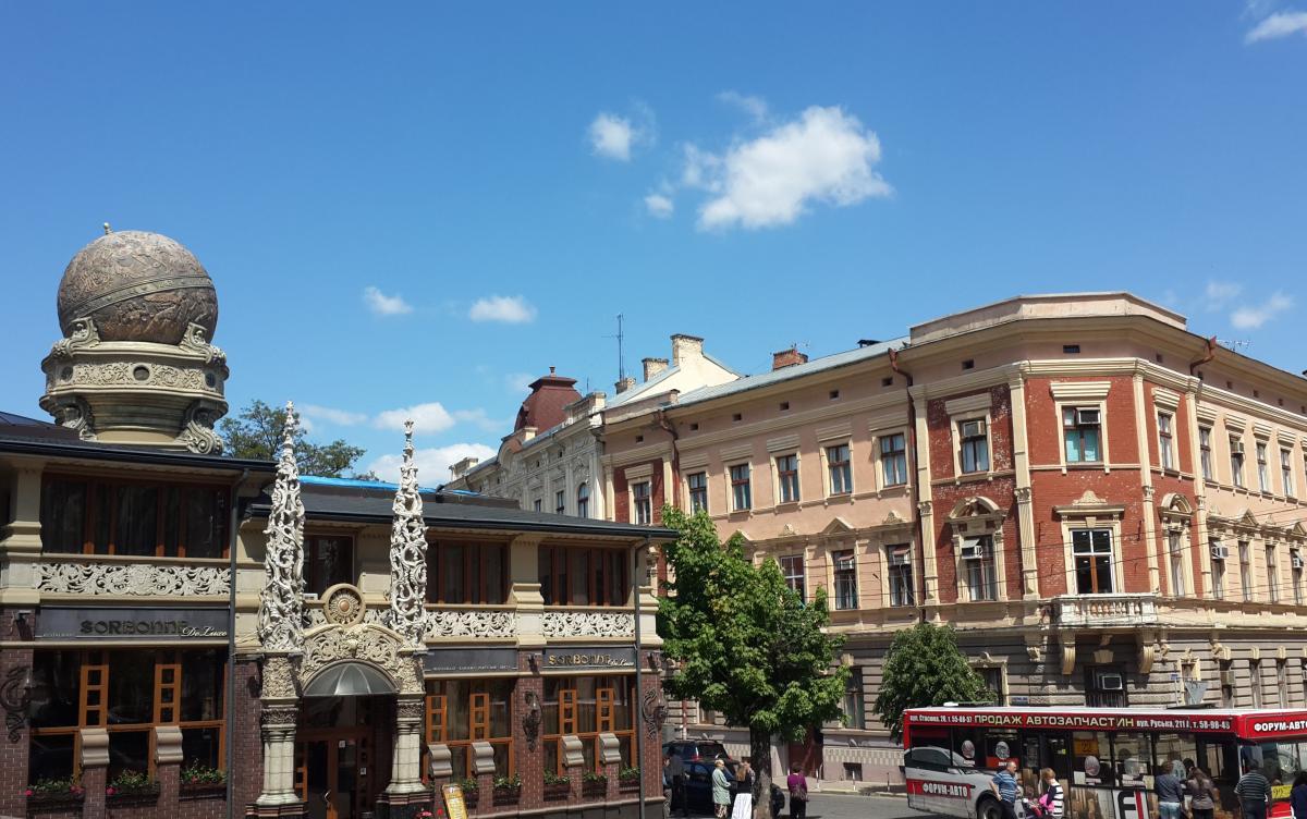 Украинские города порой выглядят не хуже европейских / Фото Марина Григоренко