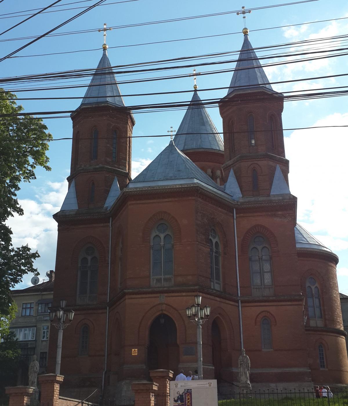 Армянская церковь в Черновцах / Фото Марина Григоренко