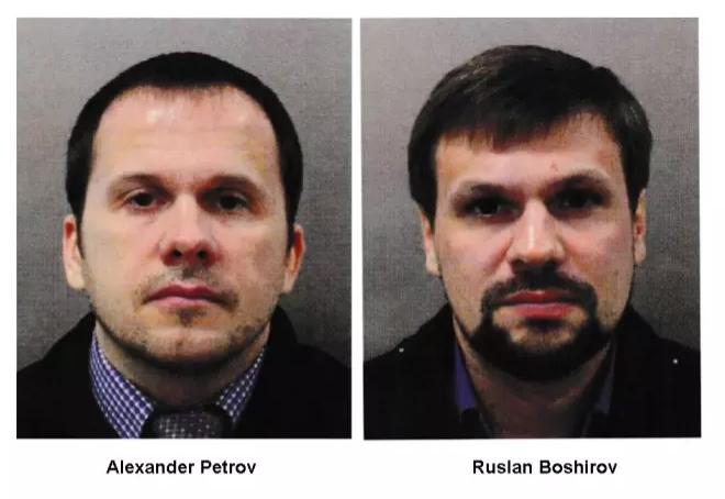 5 вересня Великобританія назвала імена громадян Росії, підозрюваних в отруєнні Скрипалів \ фото з інтернету