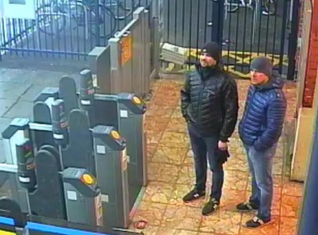 В Британии считают, что Петров и Боширов сотрудники ГРУ / фото news.met.police.uk