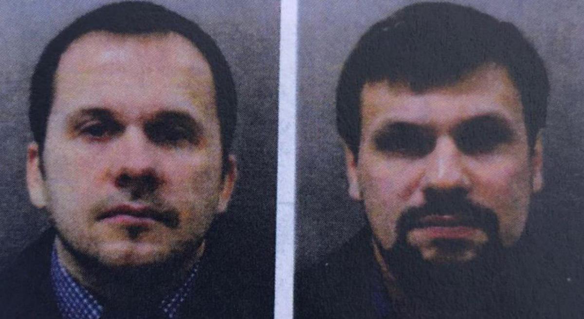 Петров і Боширов - підозрюванів отруєнні Скрипалів / фото Mash
