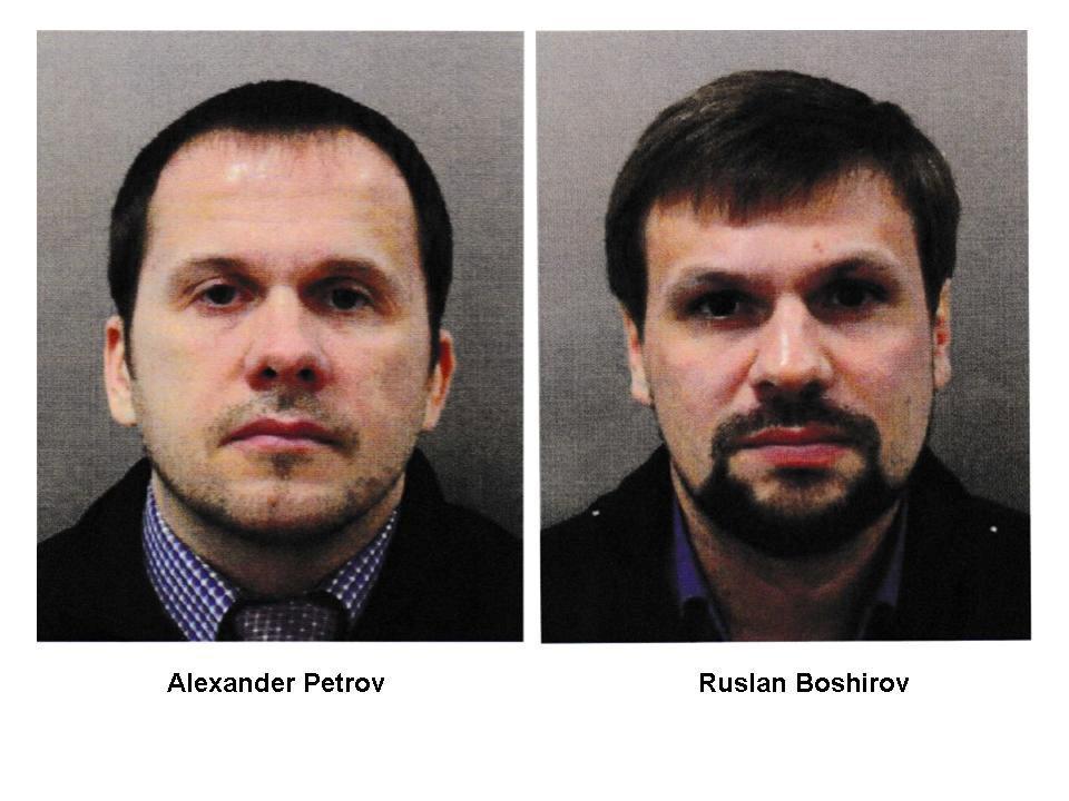 Александр Петров и Руслан Боширов / REUTERS