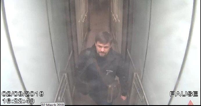 Руслан Боширов в аэропорту Гэтвик 2 марта / REUTERS