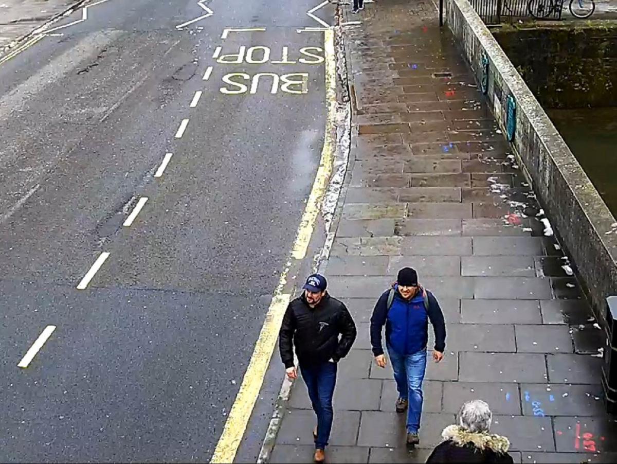 Петров и Боширов на Фишертон-стрит / фото REUTERS