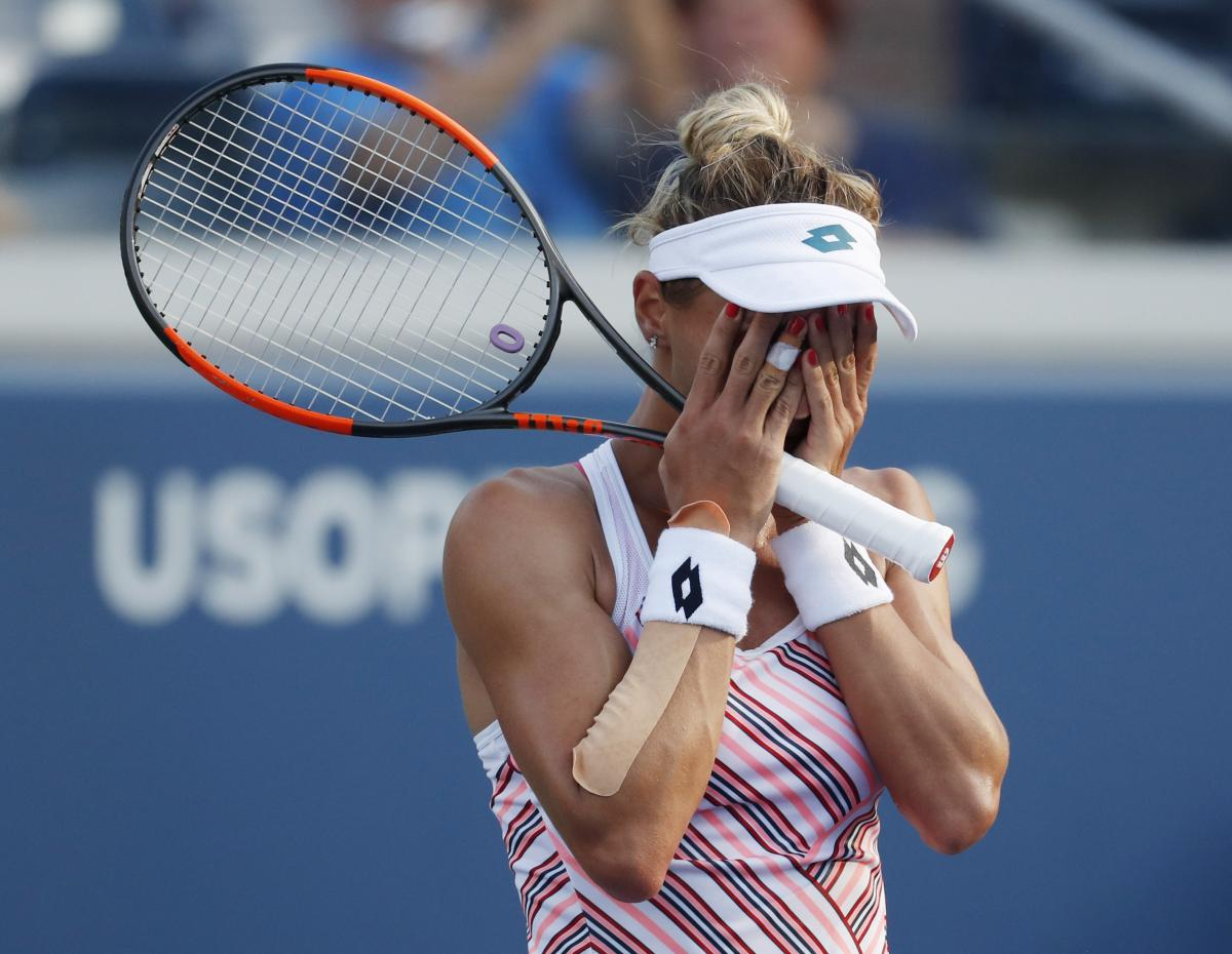 Выход в четвертьфинал Открытого чемпионата США гарантировал Цуренко, минимум, 26-е место в обновленном рейтинге WTA / Reuters