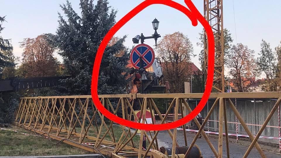 Інцидент стався біля Драмтеатру / фото Віталій Глагола, Facebook