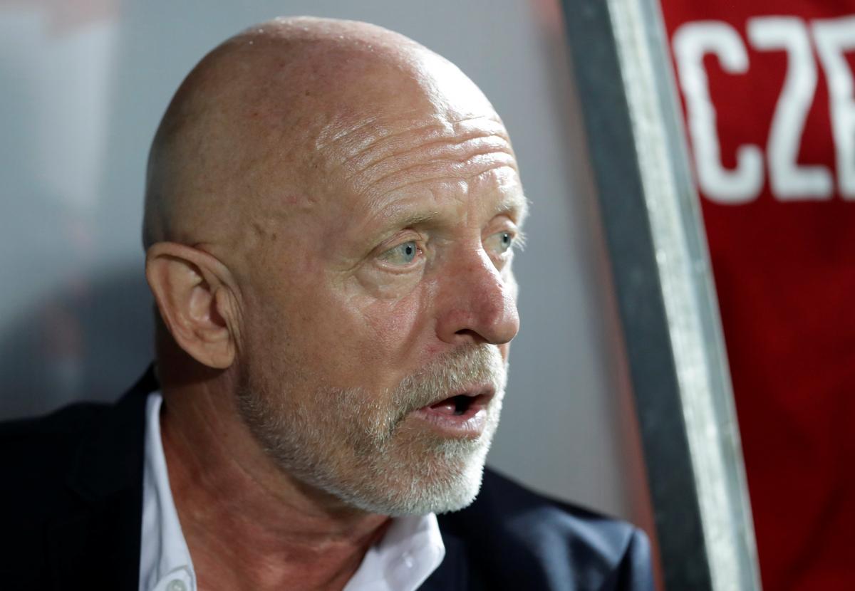 Яролим крайне раздосадован результатом первой игры сборной Чехии в Лиге наций / Reuters
