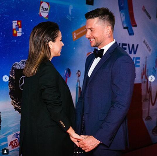 """Ані Лорак і Лазарєв трималися за руки на червоній доріжці """"Нової хвилі"""" / Instagram lorak.lazarev.official"""