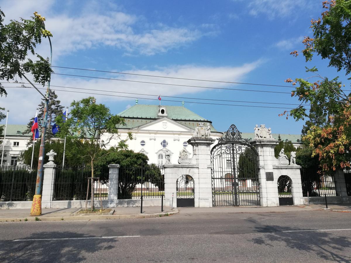 Здание аппарата правительства Словакии / Фото Марина Григоренко
